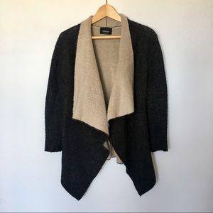 ZARA Knit Two Tone Cardigan